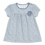 Kite Tunic Baby Girl-Ditsy French Navy